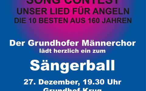2019 Plakat Sängerball